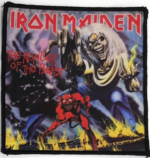 Patch Iron Maiden - The Number of the Beast 0