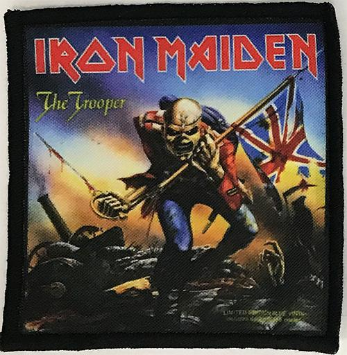 Patch Iron Maiden - The Trooper 2 0