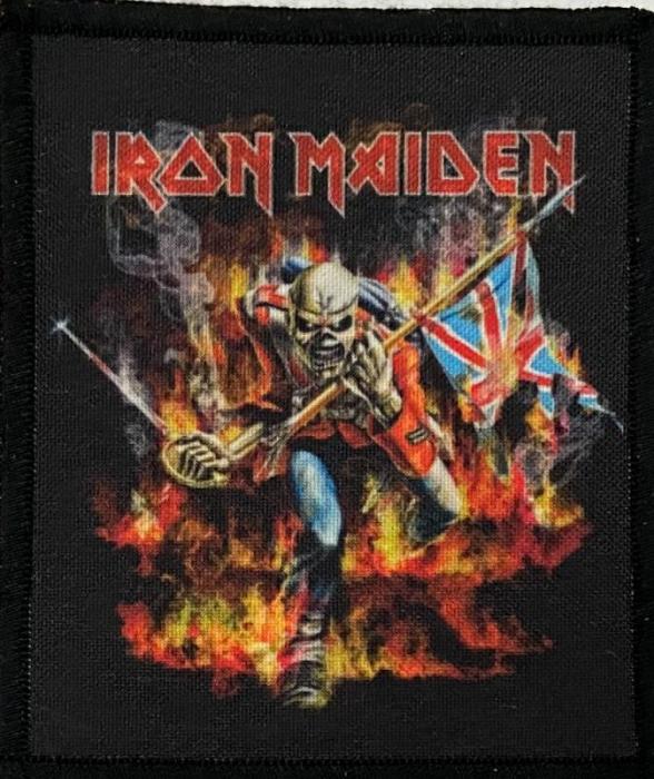 Patch Iron Maiden - Trooper, B 0