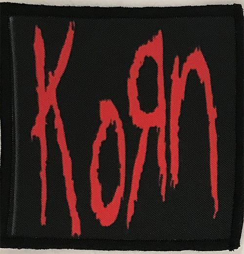 Patch Korn - Red Logo 0