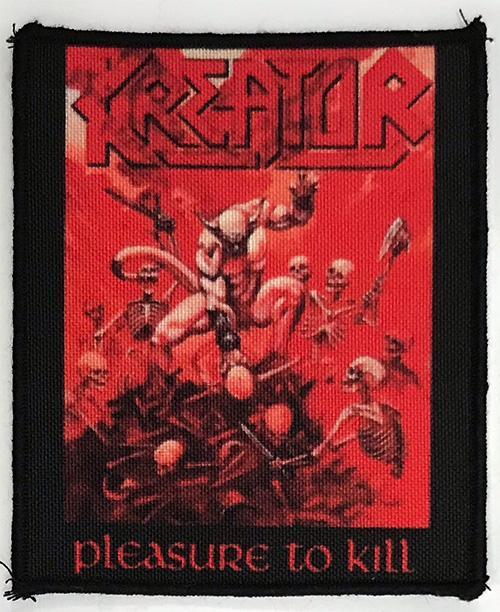 Patch Kreator - Pleasure To Kill 0