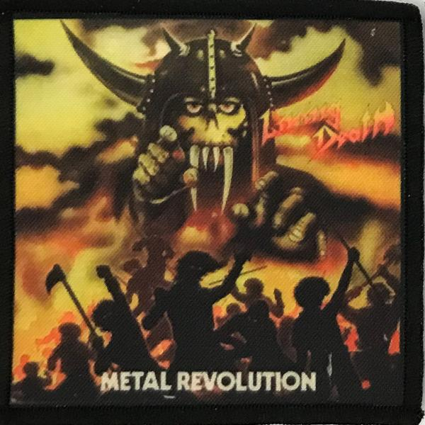 Patch Living Death Metal Revolution 0