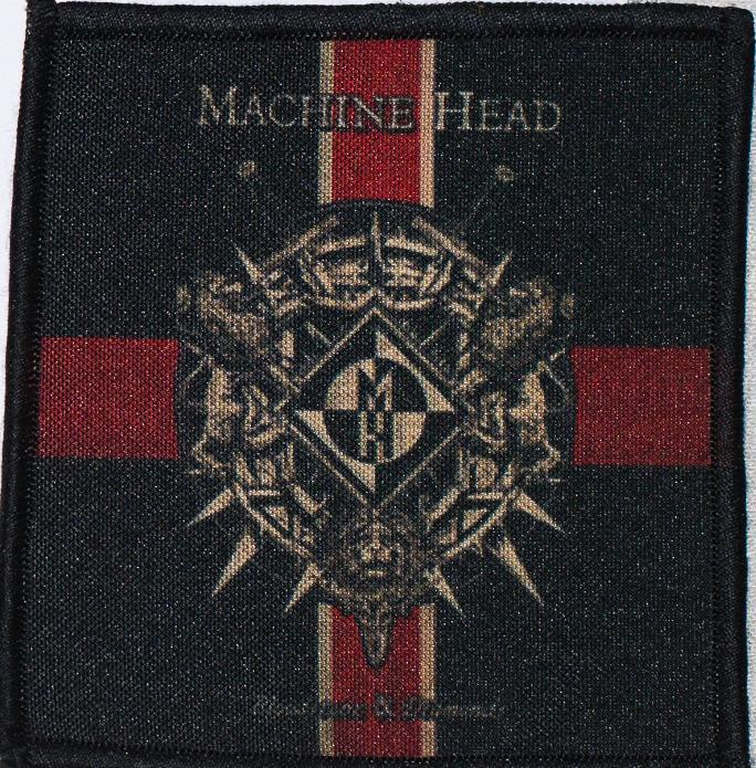 Patch Machine Head Blood & Diamond 0