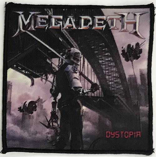 Patch Megadeth - Dystopia 0