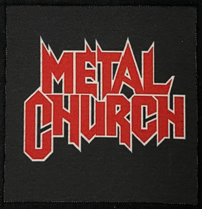 Patch Metal Church 0