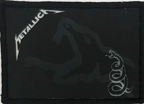 Patch Metallica - Black Album 0