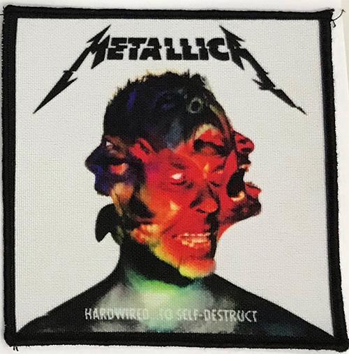 Patch Metallica - Hardwire 0