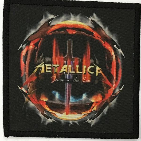 Patch Metallica Jump in The Fire 0