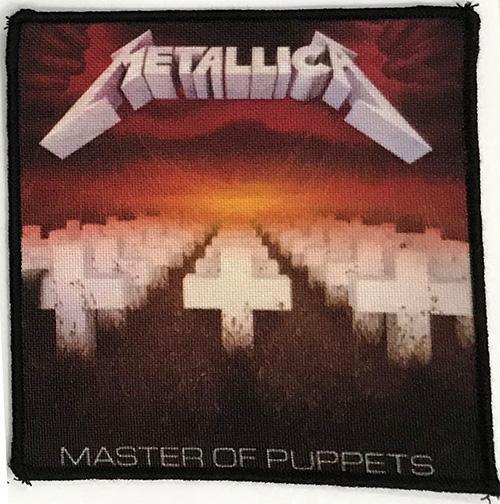 Patch Metallica - Master of Puppets 0