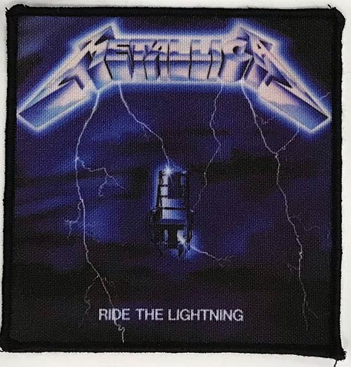 Patch Metallica Ride The Lightning 0