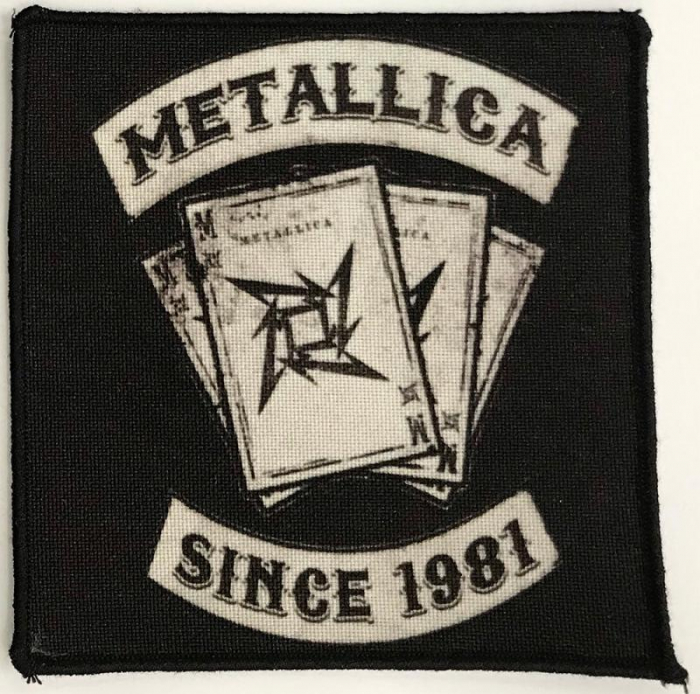 Patch Metallica - Since 1981 0