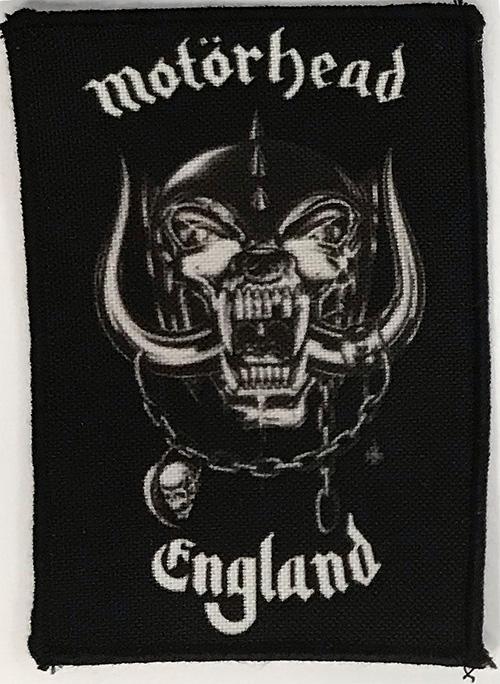 Patch Motorhead - England 0