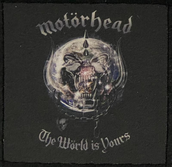 Patch Motorhead - The World is Yours 0