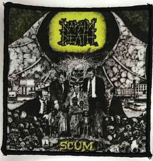 Patch Napalm Death - Scum 0