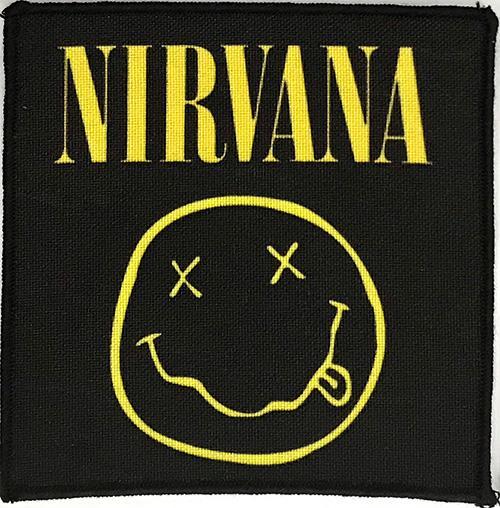 Patch Nirvana - Smiley 0