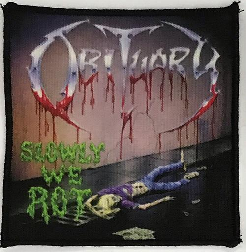 Patch Obituary - Slowly We Rot  0