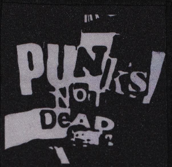 Patch Punks Not Dead P427 0