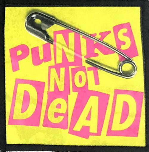 Patch Punks Not Dead - RED LOGO 0