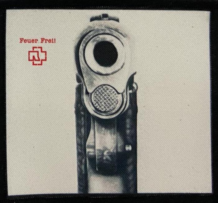 Patch Rammstein - Feuer Frei! 0