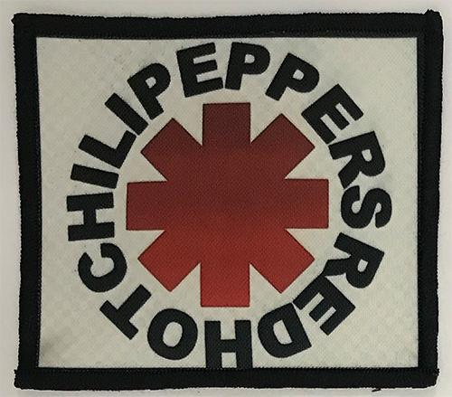 Patch Red Hot Chili Pepers  - Red Logo 0