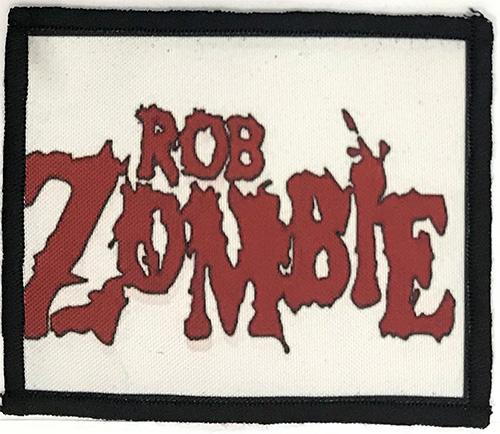 Patch Rob Zombie - Red Logo 0