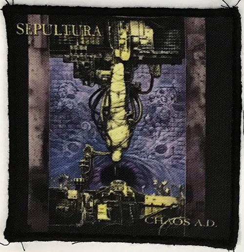 Patch Sepultura - Chaos AD 0