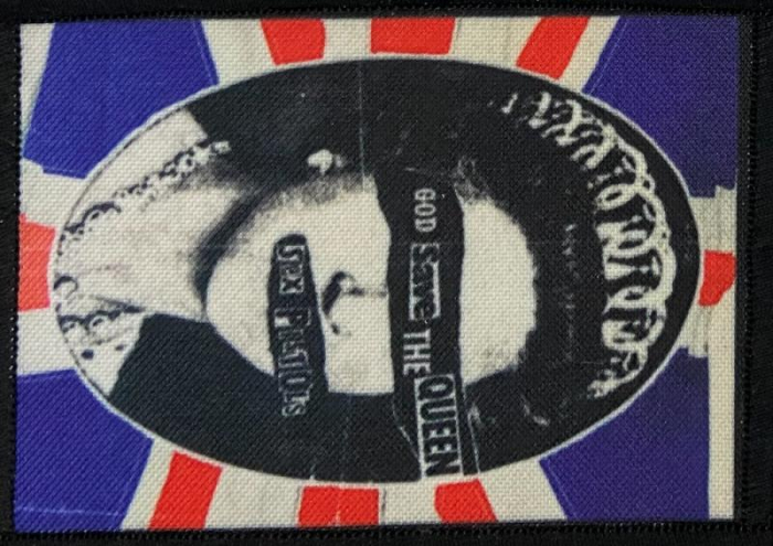 Patch Sex Pistols - God Save The Queen 2 0
