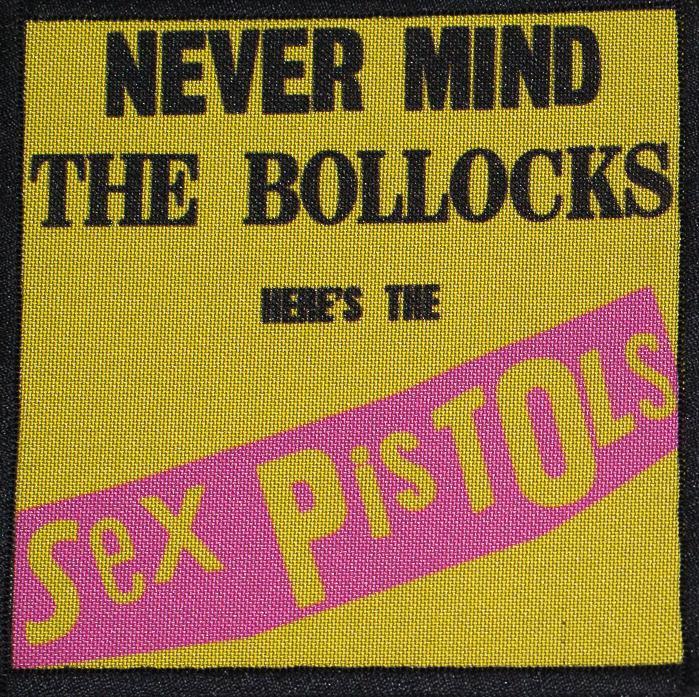 Patch Sex Pistols The Blollocks 0
