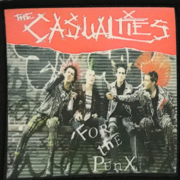 Patch The Casualties For the Punx 0