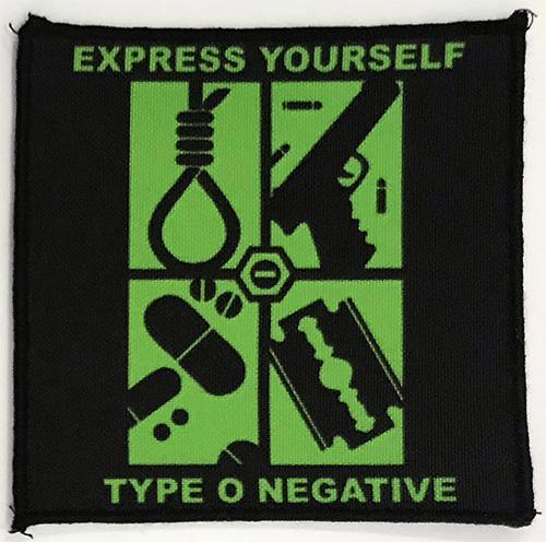 Patch Type O Negative - Express Yourself 0