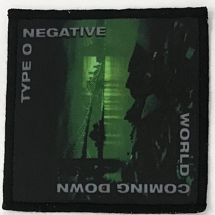 Patch Type O Negative - World Coming Down 0