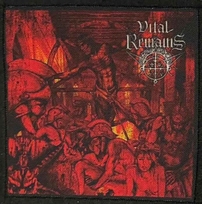 Patch Vital Remains - Dechristianize 0