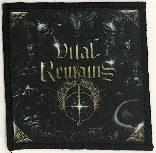 Patch Vital Remains - Horrors Of Hell 0