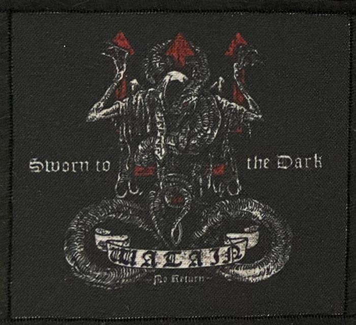 Patch Watain - Sworn to the Dark 0