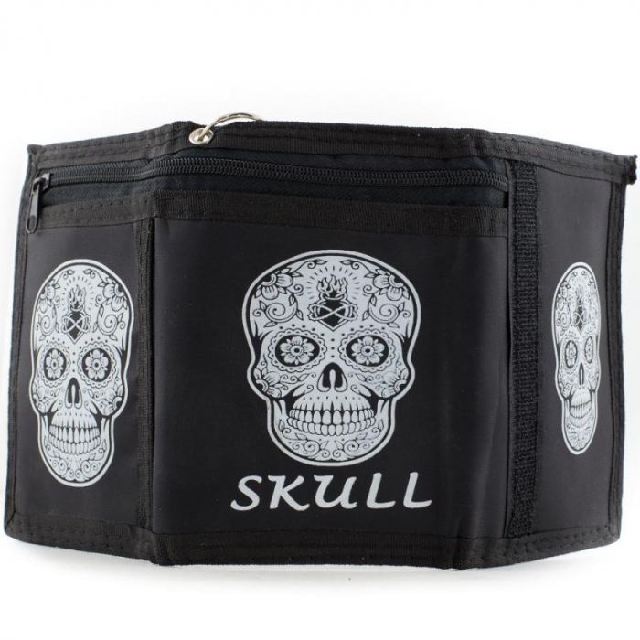 Portmoneu - Tattoo Skull 2