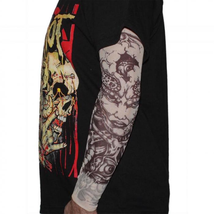 Tattoo Sleeve - Evil Eyes 0