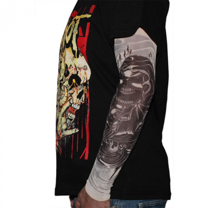 Tattoo Sleeve - Reaper In Flames [0]