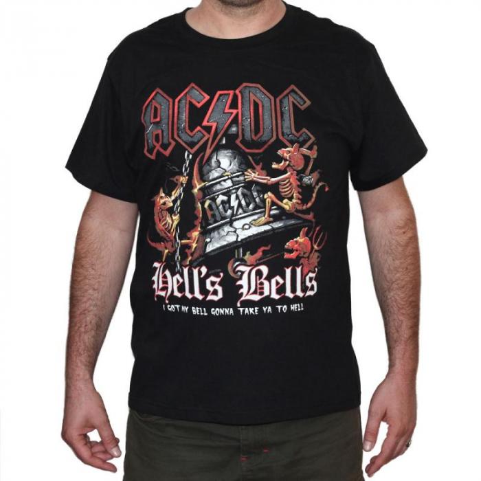 Tricou AC DC - Hell s Bells - 180 grame 0
