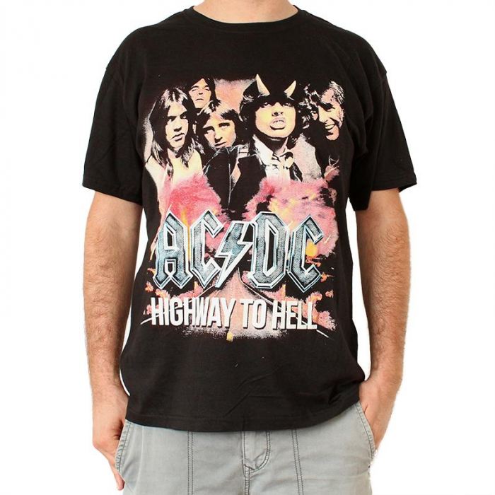 Tricou Ac Dc Highway to Hell 145 grame 0