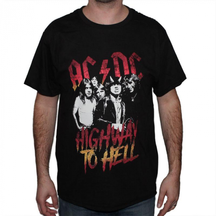 Tricou Ac Dc - Highway to Hell - 180 grame 0