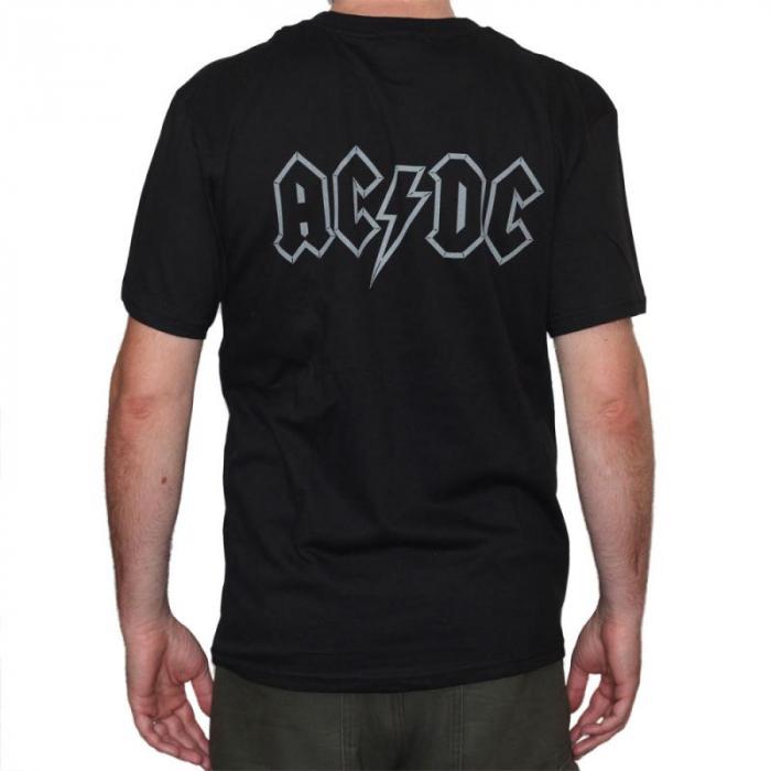 Tricou AC DC - In Flames - 180 grame 1