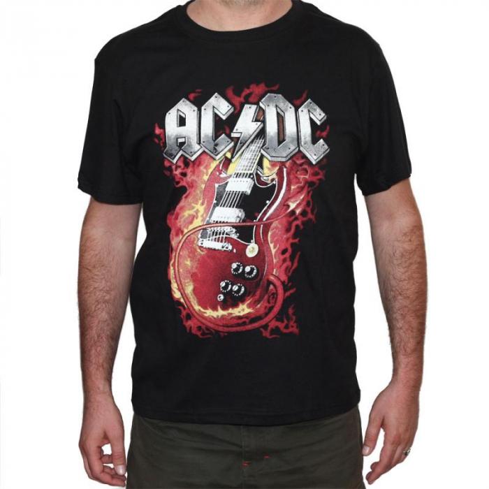 Tricou AC DC - In Flames - 180 grame 0