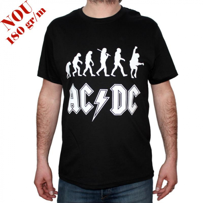 Tricou AC DC- Rock Evolution - 180 grame 0