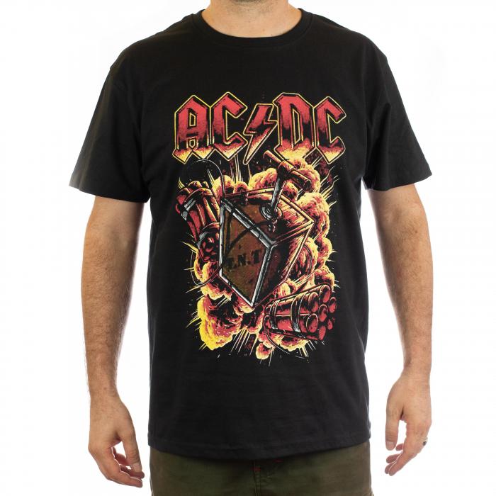 Tricou AC DC - T.N.T. marime - 180 grame 0
