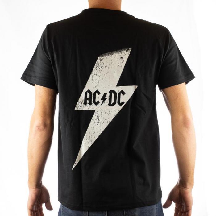 Tricou AC DC - White Thunder marime - 180 grame 1
