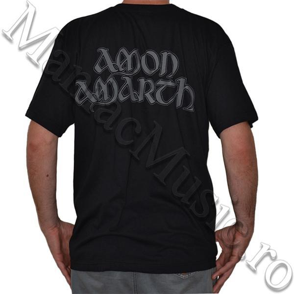 Tricou Amon Amarth - Skull and Axes - 180 grame 1