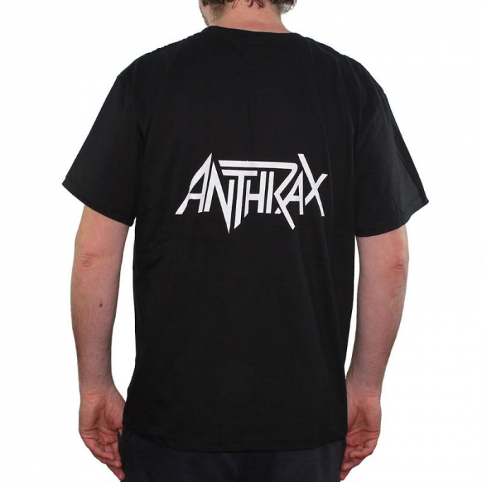 Tricou Anthrax- Soldiers Of Metal - 180 grame 1
