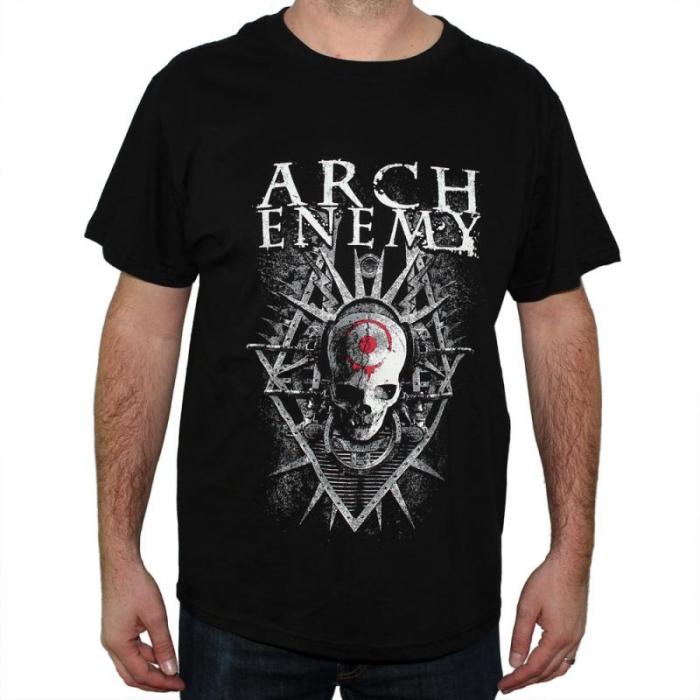 Tricou Arch Enemy - Skull - 180 grame [0]