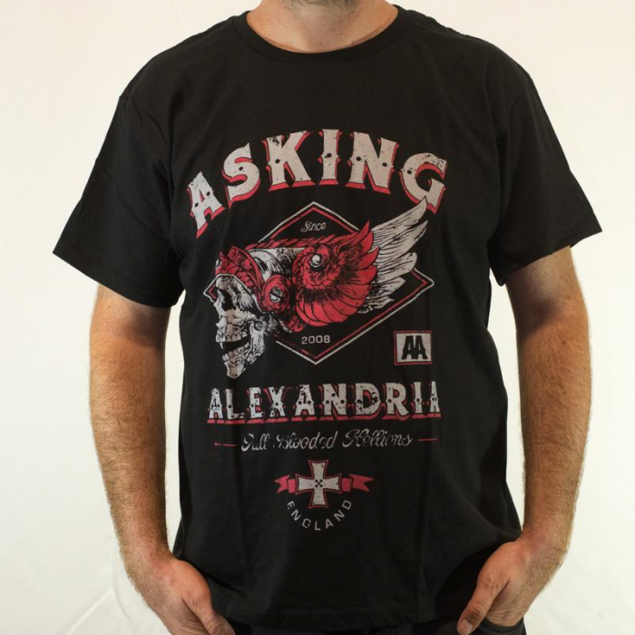 Tricou Asking Alexandria - Full blooded Hellions 180 grame 0