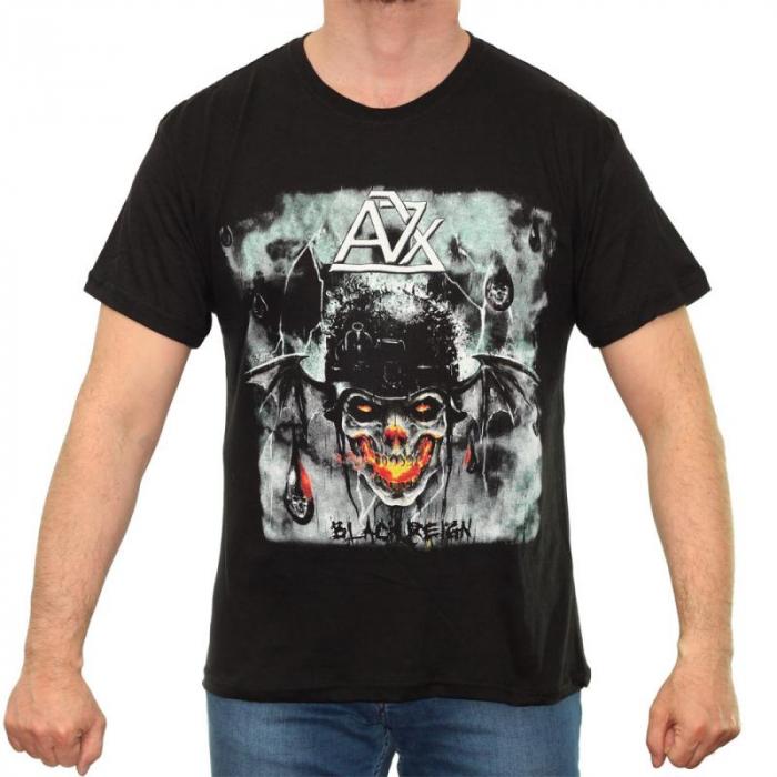 Tricou Avenged Sevenfold - Black Reign - 145 grame 0
